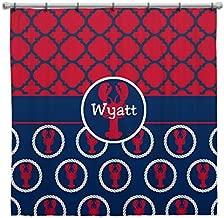 Three Ps In A Pod Crawfish Shower Curtain (Wyatt)