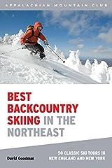 Globe Pequot Press AMC Best Backcountry Ski Ne by David Goodman - 9781934028148