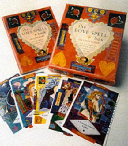 Pack of 30 Love Spells Cards and a Book of Spells (The Love Spells Box)