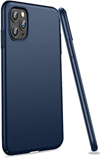 Meidom Case for iPhone 11 Pro 5.8 inch (2019) Thin Fit with Matte Finish Hard Plastic and Anti-Fingerprints Phone Case Cover for iPhone 11 Pro - Blue
