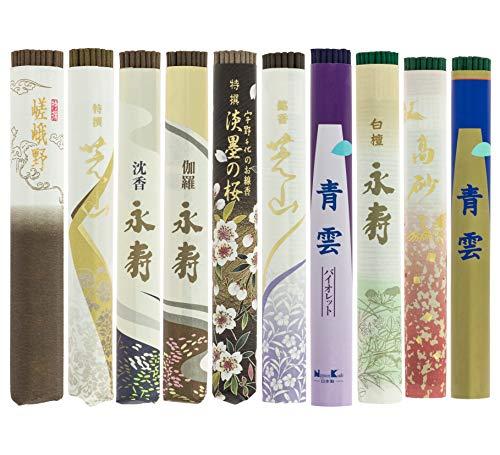 Tierra Zen Pack Incienso Japonés en Rollo 10 Unidades, Incluye Incensario