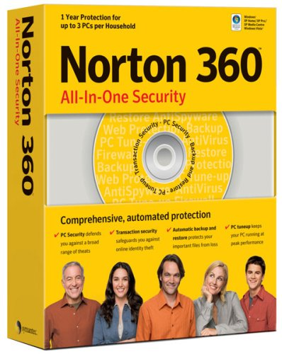 Norton 360 (3 User Licence) (PC) [import anglais]