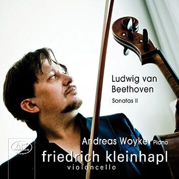 Beethoven: Cello Sonatas Nos. 4 and 5 / Violin Sonata No. 10 (arr. F. Kleinhapl and A. Woyke)