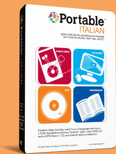 Portable Italian for iPad, iPhone, Mac or PC. Learn Italian Anywhere Anytime.