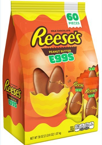 Reese's Peanut Butter Cup Eggs Easter Candy 38 Ounce Bag by 2nd2N, Inc.