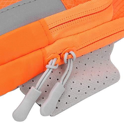 Bolsa para brazalete para correr Bolsa para brazo Bolsa para brazalete Durable Brazalete para correr Bolsa para soporte para teléfono Fitness Brazalete para correr Bolsa para teléfono para(orange)