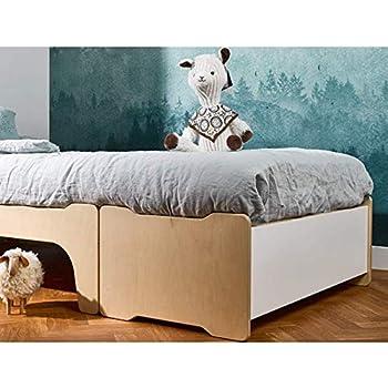 Alfred & Compagnie Montessori Evo + Baúl 90 x 140/190 Lucien ...