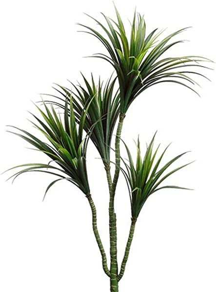 One 42 Inch Outdoor Artificial Dracena Palm Tree UV Rated