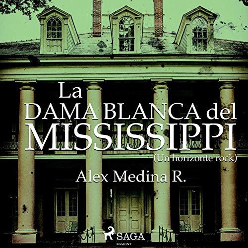 Diseño de la portada del título La dama blanca del Mississippi