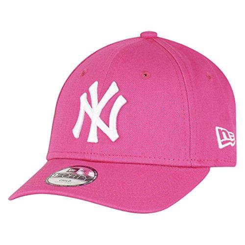 New Era K 940 Mlb League Basic New York Yankees - Gorra para niño, color rosa, talla Niño (Child)