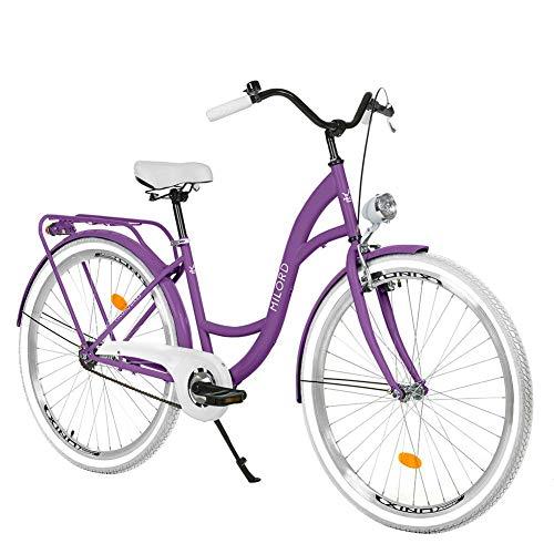 Milord. 28' 1 velocità Bici da Città Bicicletta Donna City Bike Retro Vintage