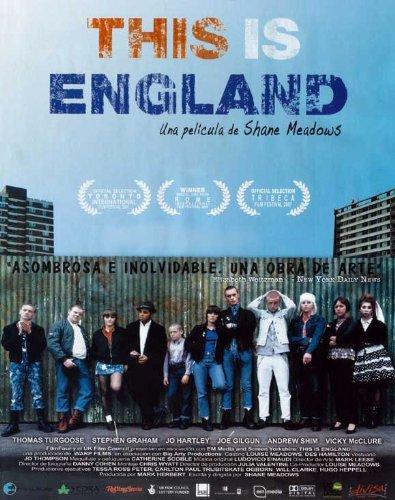 This Is England Movie Poster (27 x 40 Inches - 69cm x 102cm) (2006) Spanish -(Thomas Turgoose)(Stephen Graham)(Jo Hartley)(Andrew Shim)(Vicky McClure)(Joseph Gilgun)