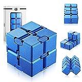 Funxim Infinity Cube, Unendlicher Würfel Spielzeug, Magic Unendlicher Flip Würfel Dekompression...