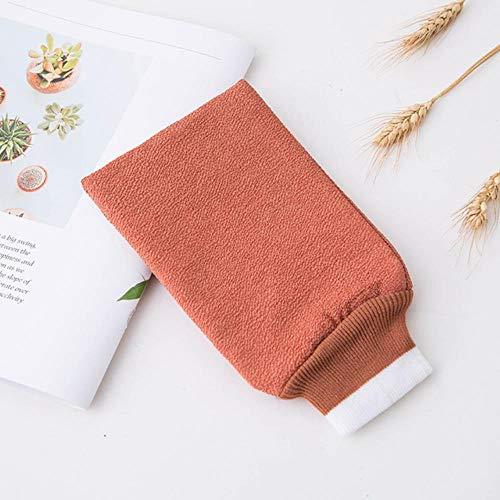 Gbcype, badhanddoek, Pure Color Bathing Glove, dubbelzijdig dikke badhanddoek, sterke reiniging, badhanddoek, badkameraccessoires