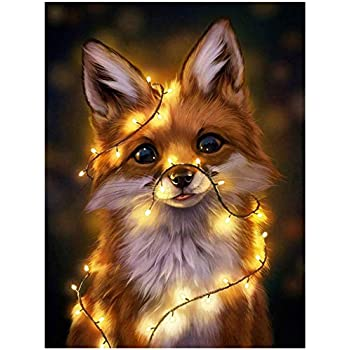 Dog Cat 40X50cm Without Frame Kissme8 Paint by Numbers Kits for Adults DIY Oil Painting Kit for Kids Beginner