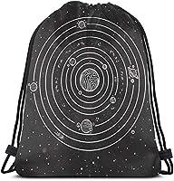 女性のためのアールデコ幾何学ジムバッグ男性巾着バックパッククリスマス感謝祭36x 43 cm