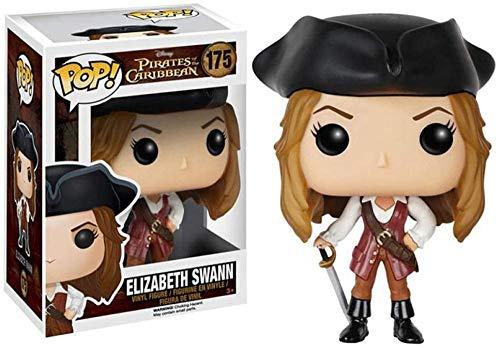 YDDM Figuras de Vinilo Baratas Funko-Pop-Toys Piratas del Caribe Jack Sparrow #...