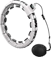 Abaodam Smart Taille Hoop Auto- spinning Hoop Gewicht Sport Hoop Fitness Supplies
