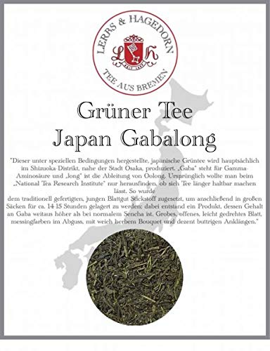 Grüner Tee Japan Gabalong 1kg
