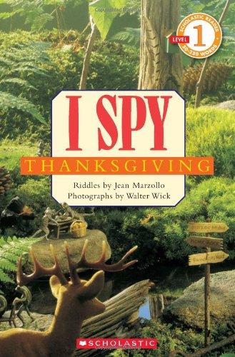 Scholastic Reader Level 1: I Spy Thanksgiving