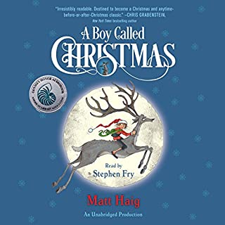 A Boy Called Christmas audiobook cover art