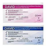 50 David Ovulationstest 20miu/ml + 10 Schwangerschaftstest Schnelltest