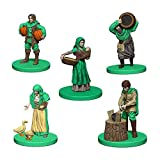 Mayfair Games Europe Game Expansion: Verde (5 Personajes), Multicolor (Pegasus Spiele agricola-Green)