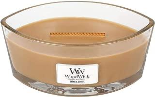 WoodWick Oatmeal Cookie Hearthwick Ellipse Candle, 16 oz.
