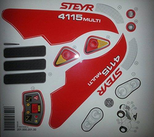 Rolly Toys Aufkleber minitrac Steyr 4115 Multi