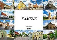 Kamenz Impressionen (Wandkalender 2022 DIN A4 quer): Zu Besuch in der Lessingstadt Kamenz (Monatskalender, 14 Seiten )