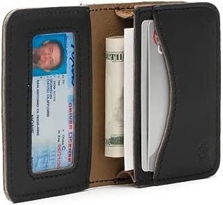 RFID-Shielded Full Grain Leather Bifold Pouch Wallet for Men Includes 100 Year Warranty