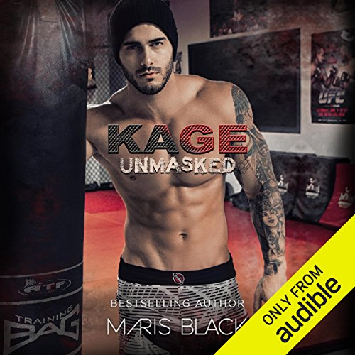 Kage Unmasked audiobook cover art