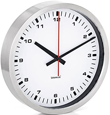 Blomus Wall Clock, White, 30 centimeters by Blomus
