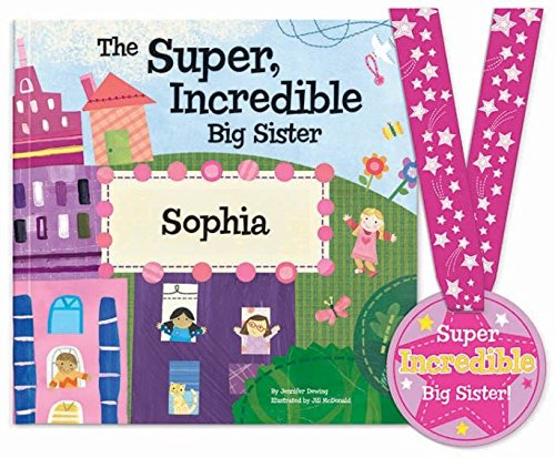 Going to Be a Big Sister Gift, Sibling New Baby, Personalized, SOFTCOVER