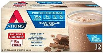 12-Count Atkins Gluten Free Protein-Rich Shake