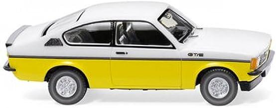 H0 WI Opel Kadett C Coup GT/E wei/Gelb