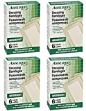 Large Individually Wrapped Sterile Adhesive Dressing Bandages, 24-ct
