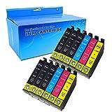 Ouguan 12x Cartuchos de tinta Epson 29XL Compatible con Epson Expression Home XP-235 XP-332 XP-335 XP-432 XP-435 XP-330 XP-430 XP-247 XP-442 XP-342 XP-345 XP-245 XP-445 Impresora