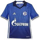 adidas Kinder FC Schalke 04 Heim Trikot, Bold Blue/White, 128