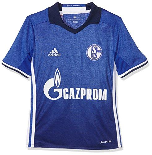 adidas Kinder FC Schalke 04 Heim Trikot, Bold Blue/White, 140