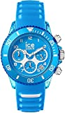 ICE-WATCH ICE Aqua Malibu - Reloj Azul para Hombre con Correa de Silicona, Chrono, 012736 (Large)