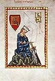 Kunstdruck/Poster: Buchmalerei Zürich Walther von der