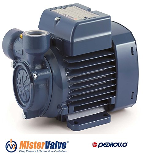 Electric Peripheral Water PQ Pump PQm60 0,5Hp Brass impeller 240V Pedrollo