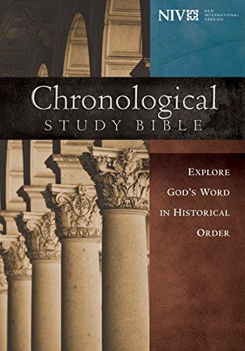 NIV, Chronological Study Bible: Holy Bible, New International Version (English Edition)