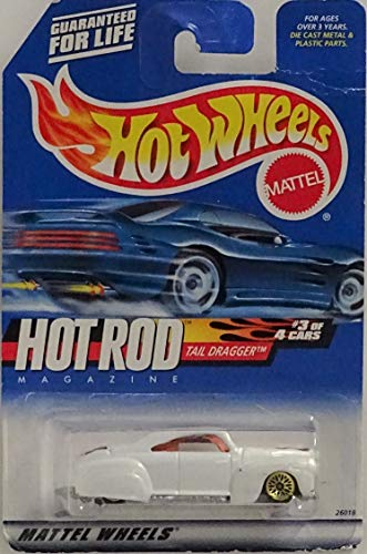 Hot Wheels Hot Rod Magazine Tail Dragger 1:64 Scale