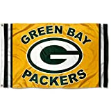 WinCraft Green Bay Packers Logo Flag and Banner