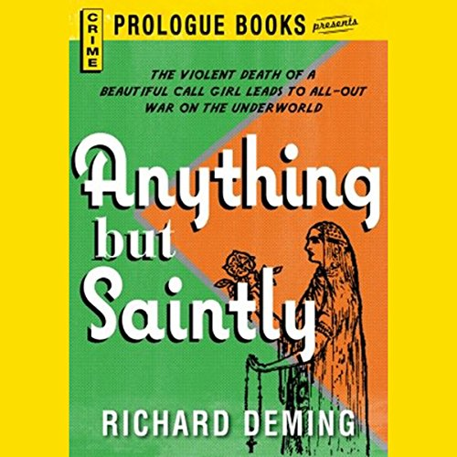 Anything but Saintly audiobook cover art
