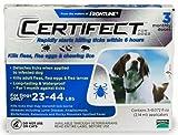 Certifect Medium Dog Flea & Tick 23-44 lbs Blue 6 Month