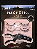 Kiss Magnetic Lash 1 With Applicator, 2 Pair, 2count
