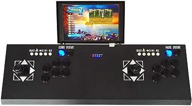 beautygoods 3D Moonlight Box 7Juego de Arcade Doble Pandora máquina de Combate Consola de Juego TV Street Fighter, con Pantalla de Acoplamiento LCD de 10Pulgadas de Juego de la Caja de Pandora